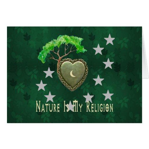 Nature Church Card