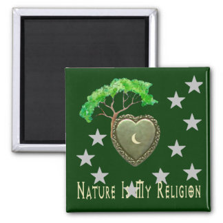 Nature Church Magnet