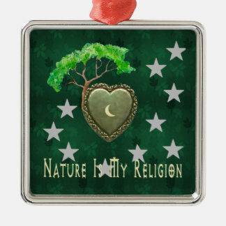 Nature Church Christmas Tree Ornaments
