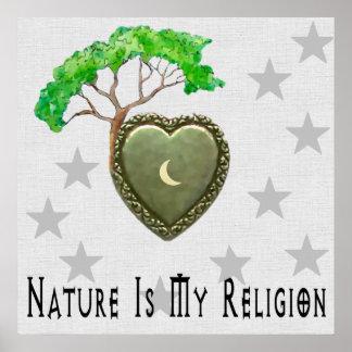 Nature Church Print