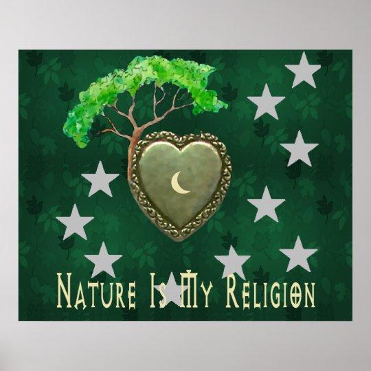 Nature Church Poster