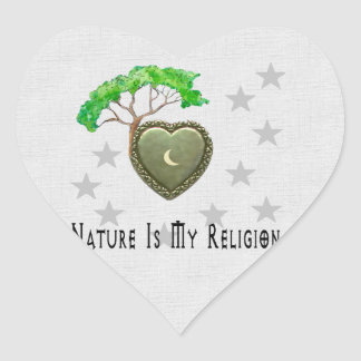 Nature Church Sticker