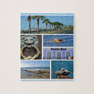 Nature collage of San Juan, Puerto Rico Jigsaw Puzzles