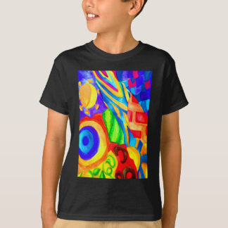 Nature Collage Painting T-Shirt