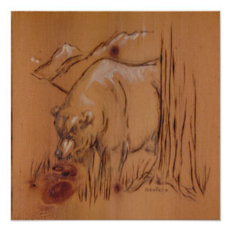 Nature Collection - Bear Poster