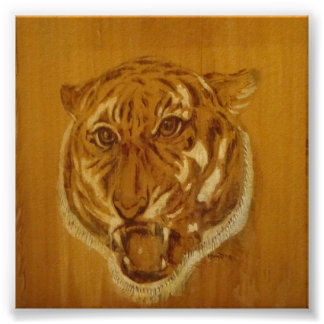 Nature Collection - Tiger Portrait Poster