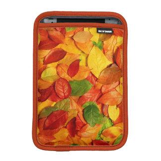 nature colorful leaves iPad mini sleeve
