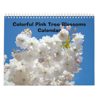 Nature Colorful Tree Flower Blossoms Calendars