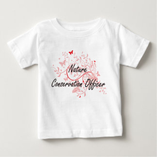 Nature Conservation Officer Artistic Job Design wi Baby T-Shirt