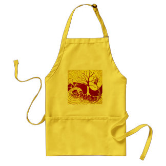 Nature Cycle Yellow Adult Apron