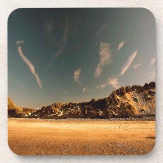 Nature Desert Sea Of Sand Drink Coaster