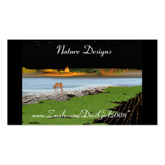 Nature Designs Profile Card Double-Sided Standard Business Cards (Pack Of 100)