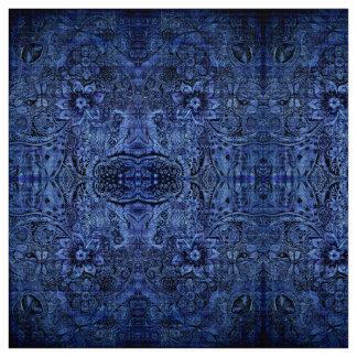 Nature Doodle Kaleidoscope Fabric