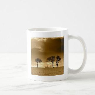 Nature Dusk Mellow Yellow Coffee Mugs