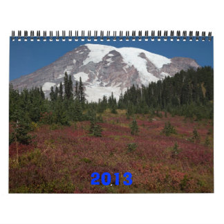 Nature East and West 2013 Calendar