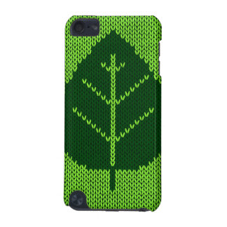 Nature Ecology Green Leaf Stitching iPod 5 Case iPod Touch (5th Generation) Cover