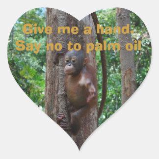 Nature Endangered Species Wildlife Heart Sticker