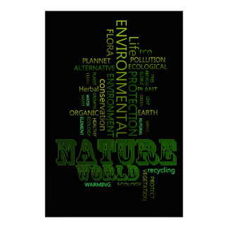 Nature environmental Related Text poster