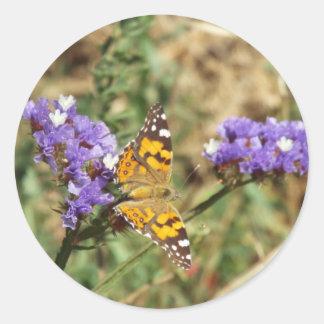 nature everlasting classic round sticker