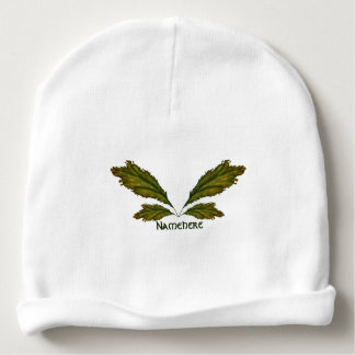 Nature Faery Wings Personalized Baby Beanie