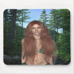 Nature Fairy Brittany Mousepad