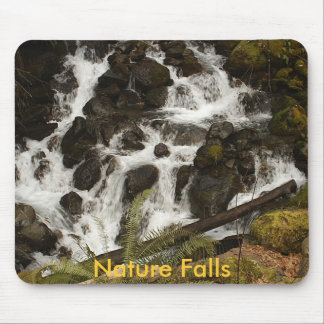 Nature Falls Mouse Pad