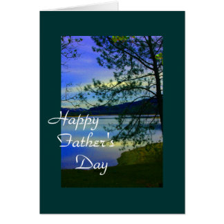 Nature Father's Day Greeting Card