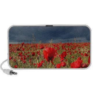 Nature Field Poppy Memories iPod Speaker