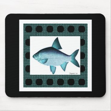 Professional Business Nature-Fish_Surreal(c) Unisex_Blue Mouse Pad