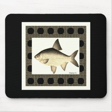Professional Business Nature-Fish_Surreal(c) Unisex_Sepia Mouse Pad