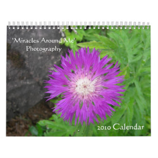 Nature/Floral 2010 Wall Calendar