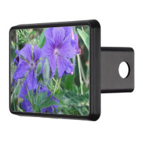 nature, flower, summer, purple, blossom, floral, hitch cover
