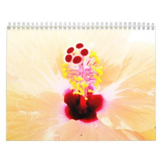 Nature flowers calender calendar