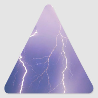 Nature Forces Chain Lightning Triangle Sticker