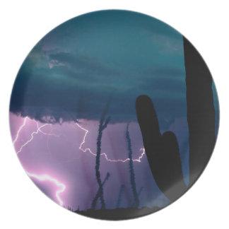 Nature Forces Desert Storm Plate