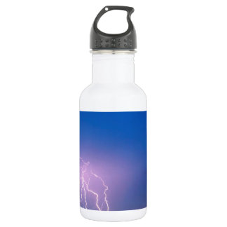 Nature Forces Electric Evening Picacho Peak Water Bottle