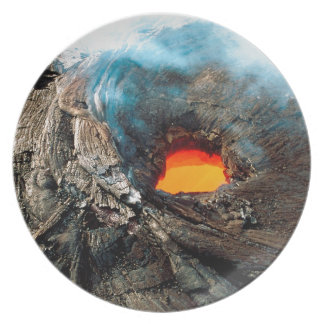 Nature Forces Kilauea Hawaii Volcanoes Party Plate