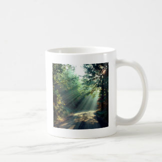 Nature Forces Light The End Of The Road Classic White Coffee Mug
