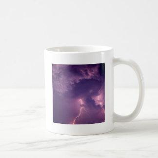 Nature Forces Lightning Dauphin Island Alabama Coffee Mugs