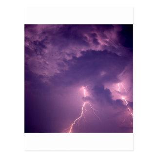 Nature Forces Lightning Dauphin Island Alabama Postcard