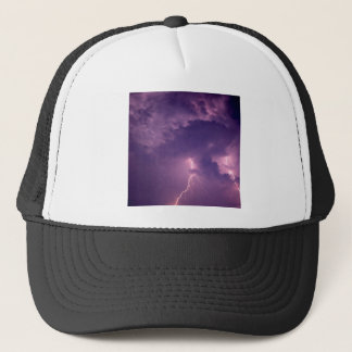 Nature Forces Lightning Dauphin Island Alabama Trucker Hat