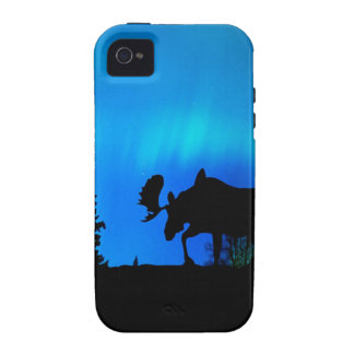 Nature Forces Night Phenomenon iPhone 4/4S Covers