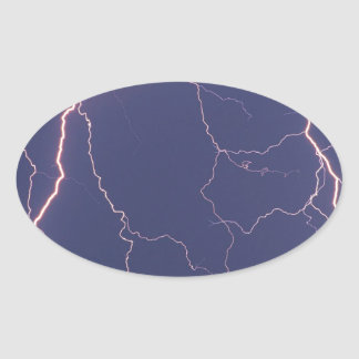 Nature Forces Night Striker Oval Sticker
