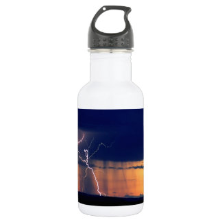 Nature Forces Storm Front Zion Utah Water Bottle