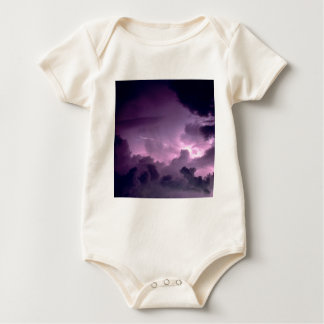 Nature Forces Stormy Weather Baby Bodysuit