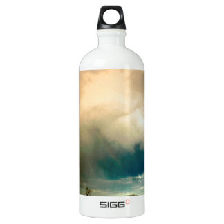 Nature Forces The Storm Looming Ahead.jpg Aluminum Water Bottle