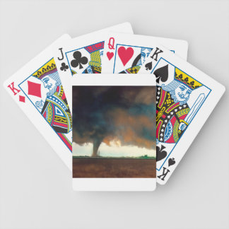 Nature Forces Twister Fargo North Dakota Bicycle Card Deck