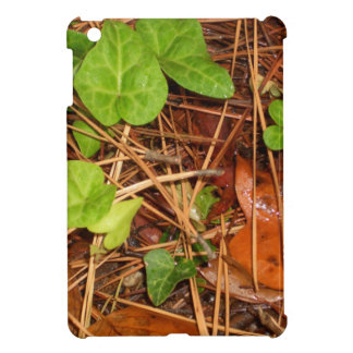 Nature Forest Floor English Ivy Rainy Leaves Cover For The iPad Mini