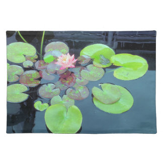 Nature - Frog on a Lily Pad Placemat