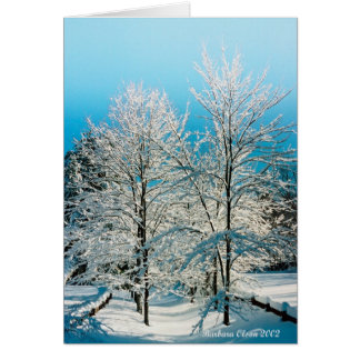 Nature: Full of divinity Walden Pond Card